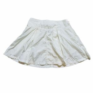 Nike White Vintage 90's Pleated Tennis Skirt